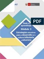 Estrategias educativas para el desarrollo de la cultura tributaria y aduanera