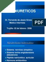 DIURÉTICOSDr. Fernando de Jesús Gross Melo