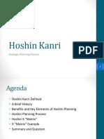 Hoshin Kanri Strategic Planning Process Clinic