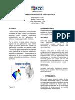 Proyecto Ecuaciones Diferenciales de Orden Superior