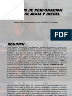 Fluidos de Perforacion en Base Agua y Diesel