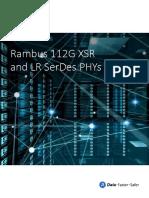 Rambus 112G XSR and LR SerDes PHYs eBook