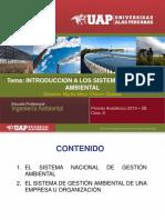 Introduccion a Los Sistemas de Gestion Ambiental