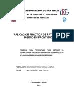 AplicaciónPracticaPatronesDiseñoFrontEnd