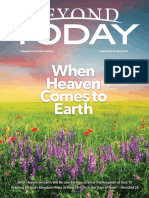 Beyond Today Magazine -- September/October 2019