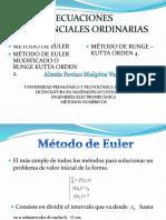 Ecuaciones lineales ordinarias