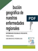 25 Enfermedades Zoonoticas Distribucion x Provinica en Argentina