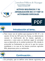 Activos Biologicos NIC 41