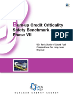 Burn-up Credit Criticality Safety Benchmark – Phase VII - UO2 Fuel - Study of Spent Fuel Compositions for Long-term Disposal