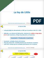 La Ley de Little