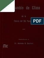 Moises S Bertoni - Cambio Climatico