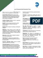 Glosario términos de construcción