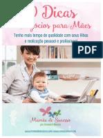 10 Dicas de Negócios Para Mães
