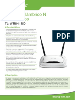 TL-WR841ND V8.0 Datasheet Mx