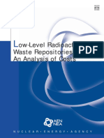 Low-Level Radioactive Waste Repositories - An Analysis of Costs