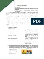 Revisão de Filosofia 2 Bim