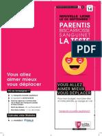 Présentation de la ligne 14 entre Parentis et La Teste