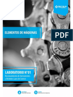 TALLER N°1-ELEMENTOS DE MÁQUINAS