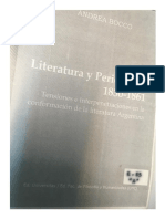 Bocco Andrea, Literatura y Periodismo. p. 81-93