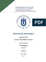 Informe de Practicas Profesionales 2019