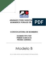Bomberos Prueba General Modelo B-DFA