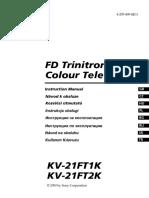 Sony Televizor - Manual