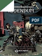 Sharp Swords & Sinister Spells Addendum
