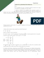Ecuaciones en Q (Números Racionales)