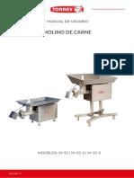 Manual Molino M 32 3
