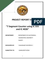 7 segment counter