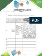 Anexos - Guía de actividades y rúbrica de evaluación - Fase 4 - Formulación