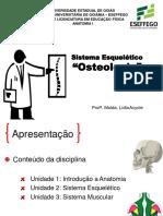 Aula 2. Sistema Esquelético - Osteologia Introdução - Copia