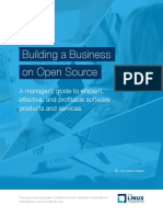 Building a Business on Open Source Ebook