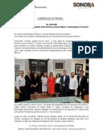 29-08-19 Se fortalece relación bilateral entre Sonora y Nuevo Mexico.