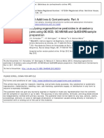 Food Additives and Contaminants Part a - Chemistry, Analysis, Control, Exposure & Risk Assessment 29 (7) (2012) 1074-1084