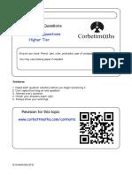 Challenge Paper Higher PDF