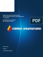 PROTOCOLO DE ACTUACIÓN ANTE SITUACIONES DE ACOSO, DISCRIMINACIÓN Y VIOLENCIA