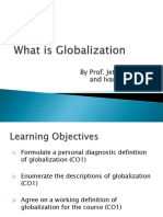 (2) What is Globalization