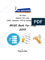 CA Final IDT MCQ by Tharun Raj Sir-May 2019