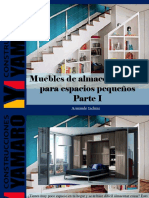 Armando Iachini - Muebles de Almacenamiento Para Espacios Pequeños, Parte I