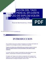 268420406-APLICACION-DE-TACO-EN-VOLADURA-pdf.pdf
