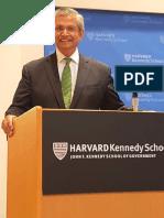 Prof. Prajapati Trivedi at Harvard Kennedy School of Government 2019