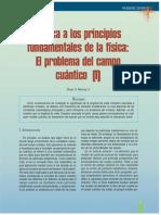 Crítica a Los Principios de La Física, El Problema de La Partícula Elemental
