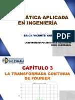 Capítulo 3 - La Transformada Continua de Fourier. Introducción y Propiedades.pptx