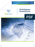 FSD - The 2016 FinAccess Household Survey Report