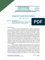 Traduccion Interferencia Linguistica por sia.pdf