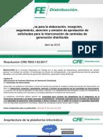 Presentación Plataforma Generación Distribuida