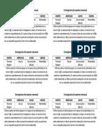 Cronograma de Examen Mensual
