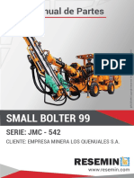 Manual de Partes Small Bolter 88 Jmc-542