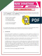Definición Del Signo Linguistico Para Cuarto de Secundaria